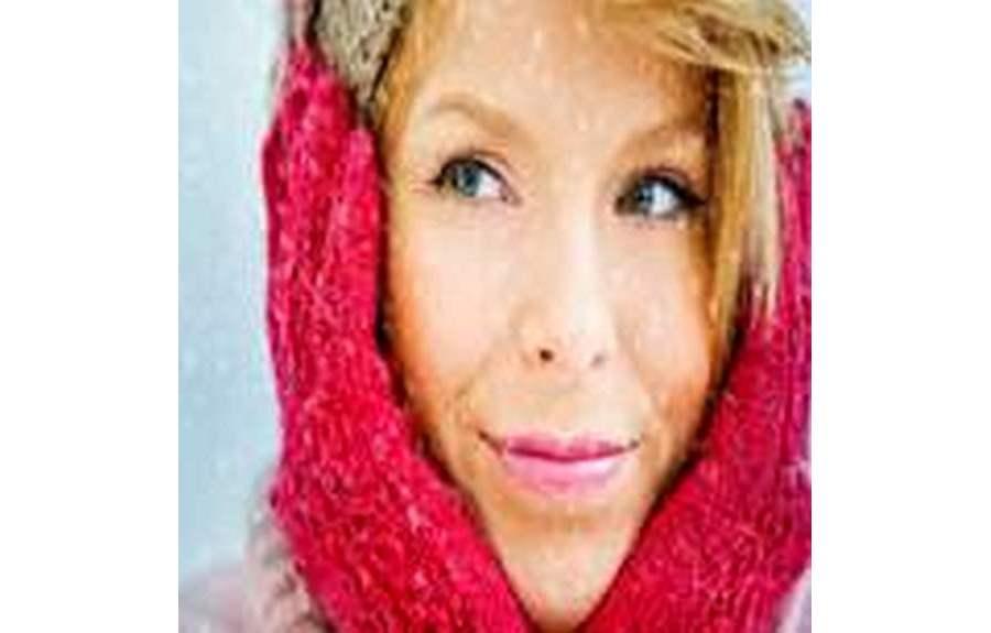 Женская кожа зимой