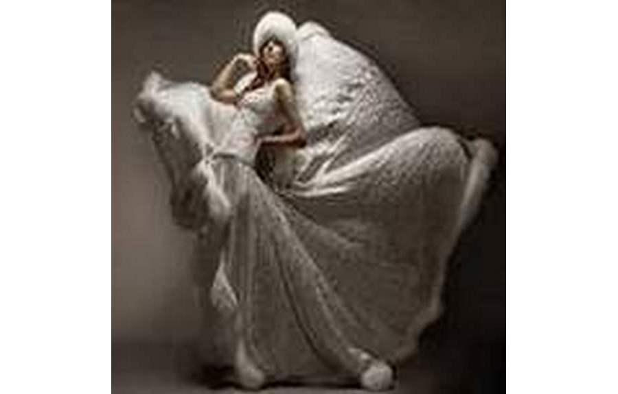 Зимний вариант наряда невесты