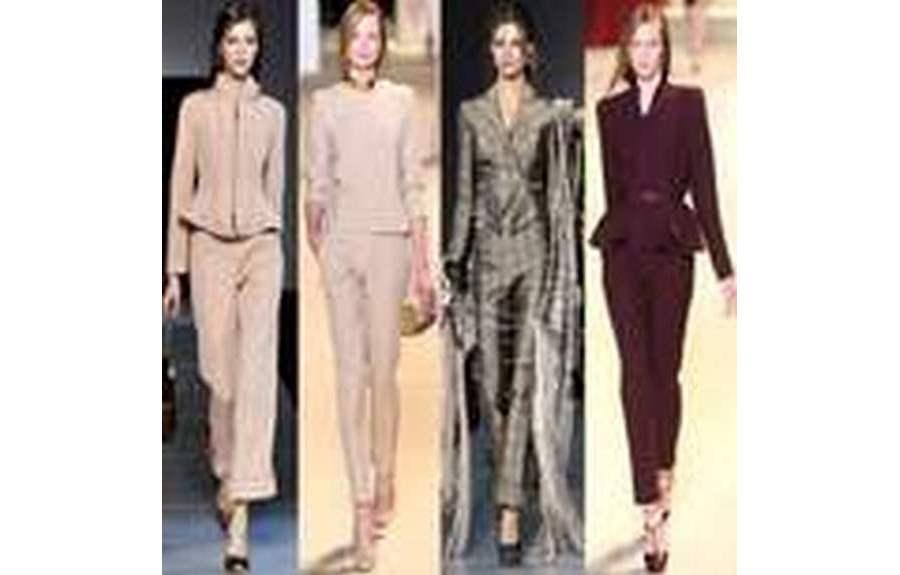 Модные женские костюмы 2014