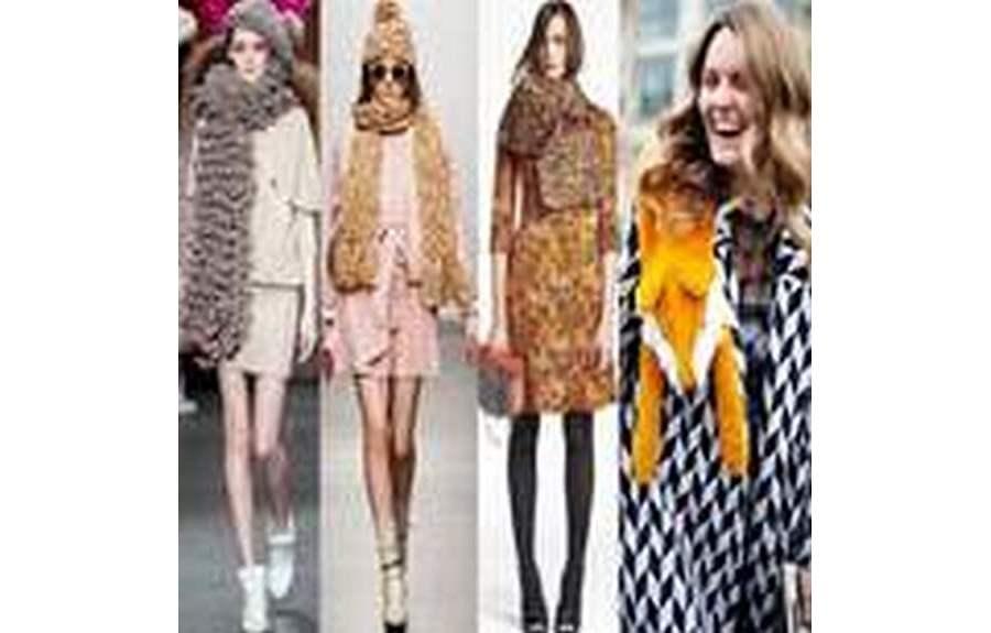 Модные шарфы зима 2013-2014