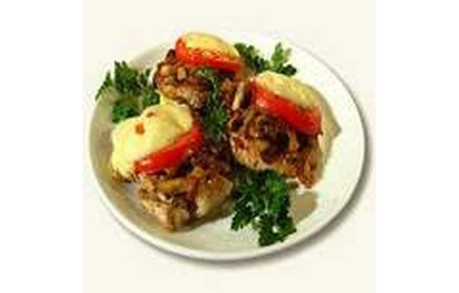 Мясо с шампиньонами, два варианта приготовления