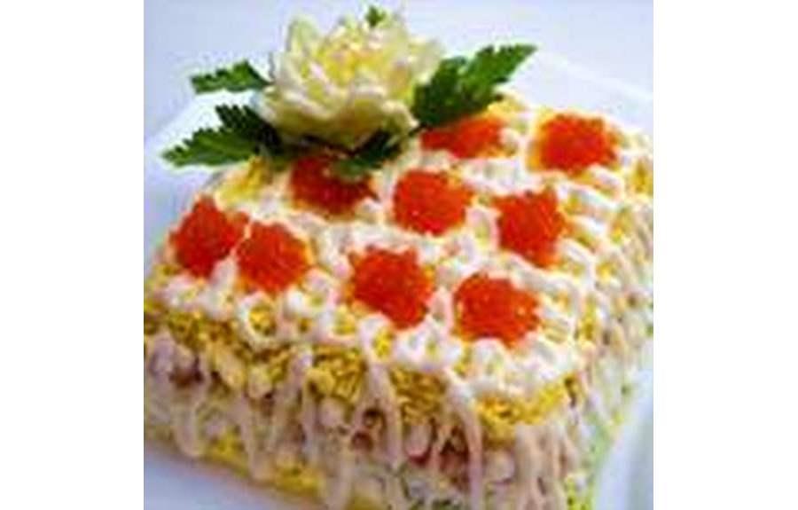 Новогодние салаты 2014 – рецепты, качественные фотографии