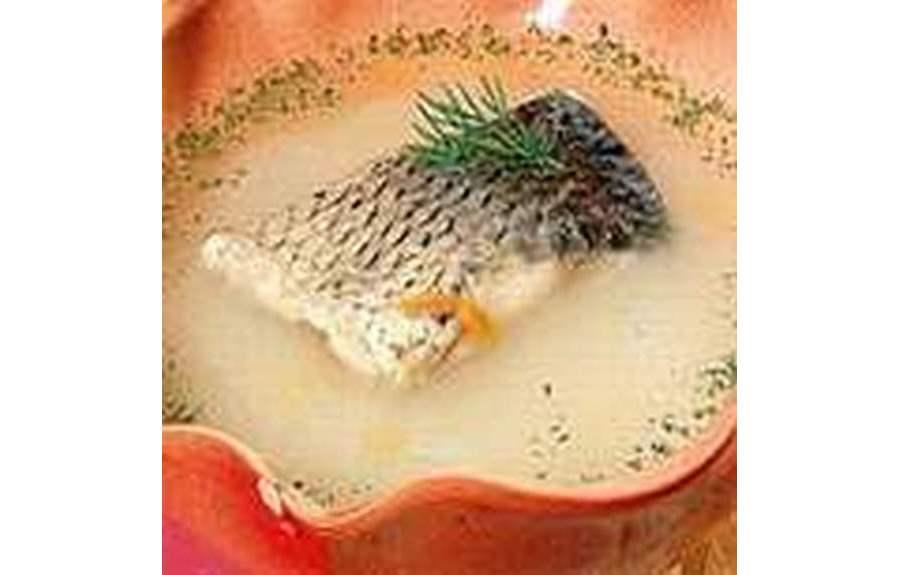 Рождественский суп из карпа