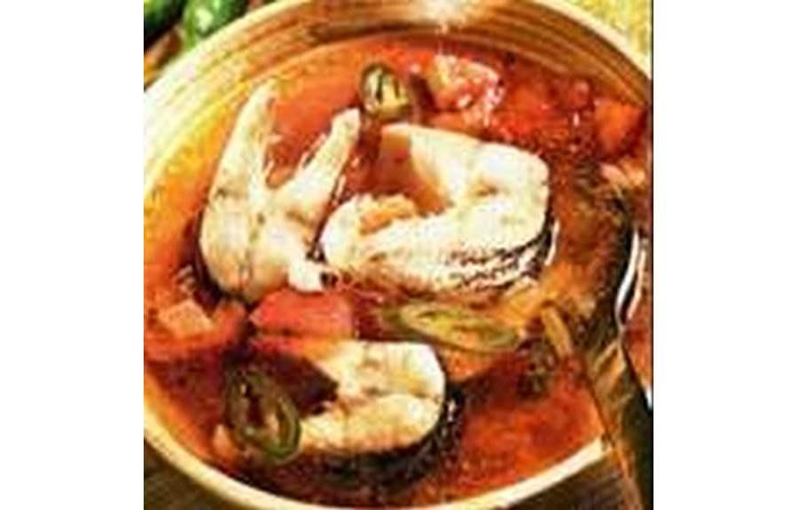 Рыбный суп из щуки по-мексикански