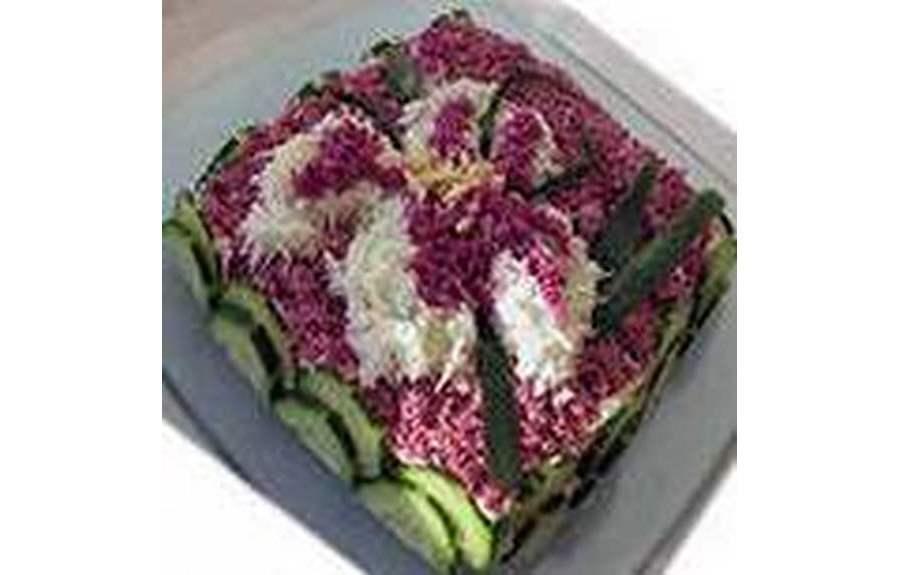 Самые простые рецепты салатов на Новый Год 2014