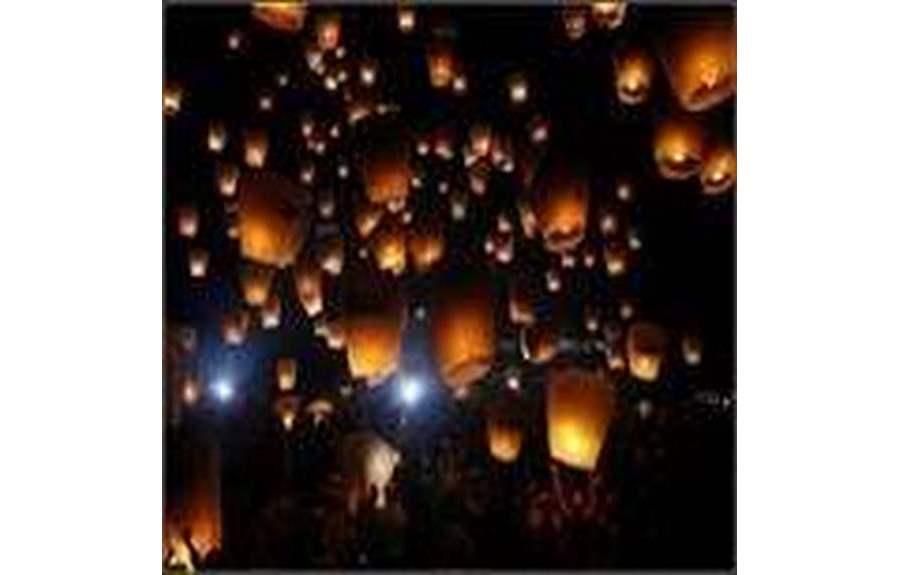 Настоящий праздник фонарей