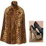 Леопардовый полушубок -  дико стильно  и модно!