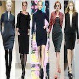Трикотажные платья - нестареющая классика и модный креатив в каждой модели