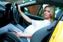 Беременная за рулем: Запрет, или обоснованное предостережение?
