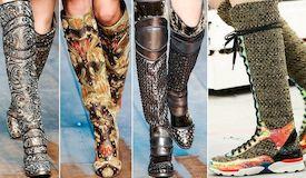 Обувные тенденции зимы 2015