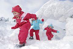 Удобная и теплая одежда для активных детей