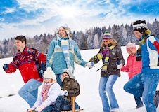 Как зимой отдохнуть со своей семьей?