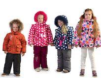 Модная детская одежда для осени