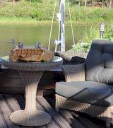 Плетеная мебель – изысканный и утонченный элемент интерьера