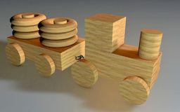 Деревянные машинки - оригинально, просто и надолго