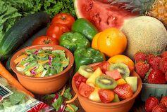 Особенности диет на фруктах и овощах